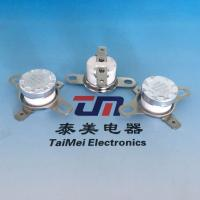 Quality Temperature Control Switch Ksd301 80degree 15A 250V Nc Normally Closed Thermostat / Bimetal Thermal Protector for sale