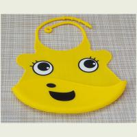 Quality Feeding Silicone Baby Bibs With Ultra Soft Edges Multi Color Easy To Use for sale