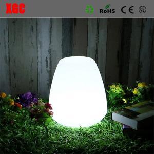 China RGB LED Colors Plastic Home Garden Decor Small Table Fashion Night Lights Led Lantern on sale