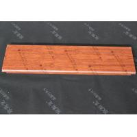 Quality Fireproof Decorative Wood Ceiling Panels Aluminum Alloy Roller Coating for sale