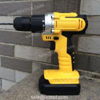 Quality LX2028 18V cordless drill Ni-cd battery cordless screwdriver for sale