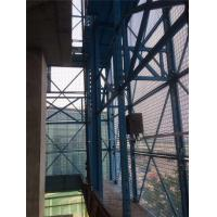 Quality Steel Structure Scaffold Safety Netting Blue / Green For Construction Site for sale
