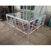 China 18mm Thinckess Aluminum Acrylic Portable Stage Platforms with Truss System and Tent on sale