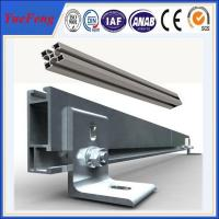 Buy Professional design aluminum solar mounting rail for solar system from yuefeng at wholesale prices