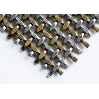 Buy cheap Crimped Type Weave Architectural Metal Screen With Stainless Steel or Aluminum from wholesalers