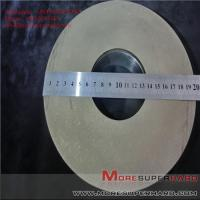 Quality Metal bond diamond grinding wheel machining magnetic material  ALisa@moresuperhard.com for sale
