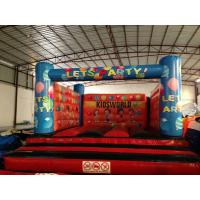 Quality Simple Kids Inflatable Bounce House For 5-6 Children Outside Inflatable Balloon Painting Jump House for sale
