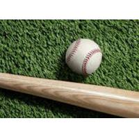 Quality 45mm Slip - resistant Baseball Artificial Turf Latex Coating S Shape Curled for sale