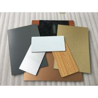 Quality Bronze ACP Aluminium Composite Panel Corrosion Resistance Easy To Maintain for sale