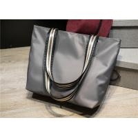 China Casual Ladies Canvas Handbags Water Repellence Stylish Large Capacity for sale