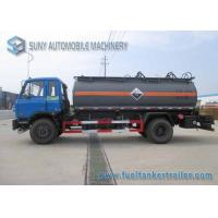 Quality 10000 L Caustic Soda Chemical Liquid Tanker Truck 4x2 Dongfeng for sale