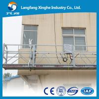 Quality Prompt delivery aluminum temporary gondola working platform ZLP800 for window cleaning and maintenance for sale