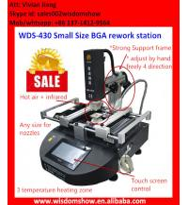 Quality Most economic 110V/220V hot air bga rework station WDS-430,computer motherboard repair machine for sale