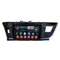 Quality Touch Screen Toyota 2014 Corolla GPS Navigation / DVD Player with iPod BT SWC TV for sale
