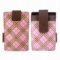 Quality Mobile Phone PU Leather Pouches/Cover/Case, Bodino Brand for High-quality for sale