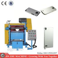 Phone Case Metal Buffing Machine , Polisher Buffer Machine Easy Installation