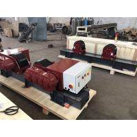 Buy cheap Bolt Adjustment 20 Ton Conventional Tank Turning Rolls With 2*1.1 KW Double Motor from wholesalers