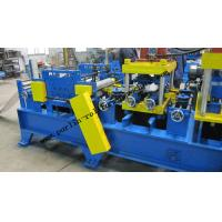 Quality 20 KW Steel Frame C Purlin Roll Forming Machine For C / Z / U Shape Purlins for sale