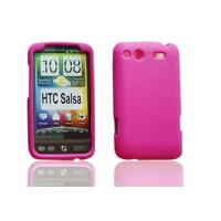 Quality Pink HTC Salsa Silicone Protective Cell Phone Cover Cases for sale
