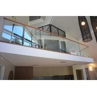 Quality Popular design stainless steel spigot clear glass railing for balcony design for sale