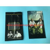 China Portable Cigar Ziplock Bags With Transparent Window Humidified System on sale