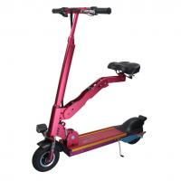 Quality LED light Aluminium Alloy Foldable Handle Electric Motorized Bicycle E Unicycle for sale