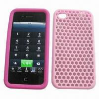 Quality Promotional Silicone Mobile Phone Case/ Mobile Phone Housings, Available Various Colors, Design for sale