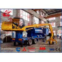 China Portable Hydraulic Scrap Car Steel Aluminum Copper Baler Logger Baling Press Compactor For Steel Factory on sale