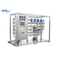 Quality SS304 SS316L Pharmaceutical Water Purification System Double Stage RO EDI Module for sale
