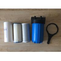 Quality 10 Inch Water Filter Housing  Polypropylene Big Blue Jumbo Blue with Air Release for sale
