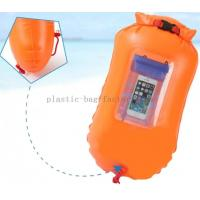 Quality Safe Swim Floating Dry Bag for Swimmers , Triathletes with Transparent Window for sale