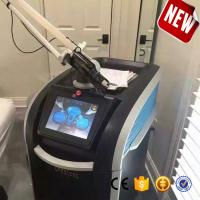 China double lamps double crystals picosecond laser technology 1064nm, 532nm ndyag laser machine for tattoo removal on sale