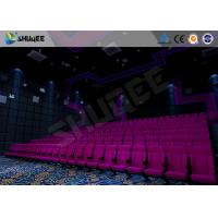 Quality Amazing Cinema System Movie Theatre Seats With ARC Screen Play 3D Movie for sale