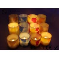 Quality Remote Control Flameless Candles Led , Flameless Scented Candles No Dripping for sale