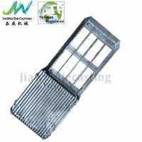 Quality OEM / ODM Recyclable LED Extruded Aluminum Heatsink Shot Blasting Finished for sale