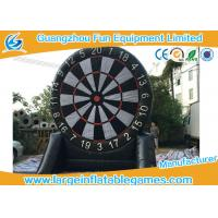Quality Single Side Commercial Inflatable Dart Board Dart Games For Kids Games 4mH for sale
