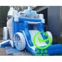Quality 2016 hot sell  frozen adult bouncy castle  with 24months warranty for sale