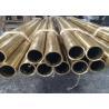 GB/T 5231-2012 H85 Brass Tubing / Seamless Copper Tube For Condenser OD 19.5cm for sale