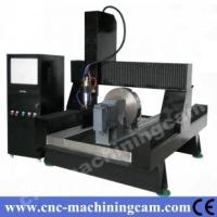 Quality dimeter 400mm rotary ,cnc granite engraving machine ZK-9015(900*1500*700mm) for sale