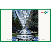 Quality Advertising Giant Inflatable Trophy Cup Strong 210D polyester cloth for sale