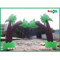 Quality Green Tree Oxford Cloth Inflatable Tree Decoration For Festival for sale