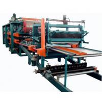 Quality Double Belt PU Sandwich Panel Making Machine Automatic For Roof Wall Panel for sale