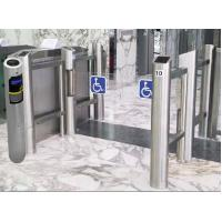 Buy 304 stainless steel dropbox cabin type RFID card collector for access control turnstile at wholesale prices