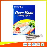 Quality PET Oven Cooking Bags Heat Resistant For Fish / Meat / Turkey Eco Friendly for sale