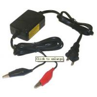 Quality 800mA Sla Lead Acid Battery Charger 12v With 3 Stage Charging for sale