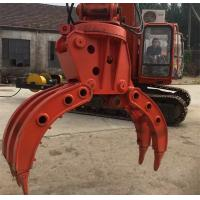 Quality Large - Diameter Steel Pipe And Sheet Metal Grapple Machine For Auto Dismantling for sale