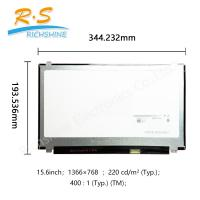 "Buy cheap B156 X TN04.6 15.6"" 1366*768 Auto LCD Screen 15.6"" slim glossy in stock from wholesalers"