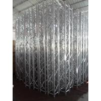 Buy Square Shape Aluminum Stage Truss 389mm X 389mm Silver For Wedding at wholesale prices