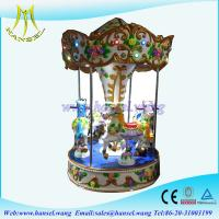 Quality Hansel coin operated children 4 rides carousel horse for sale for sale
