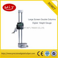 Quality Large Screen Double Columns Digital Height Gauges with Fine Adjustment for sale